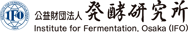 Institute for Fermentation, Osaka (IFO)